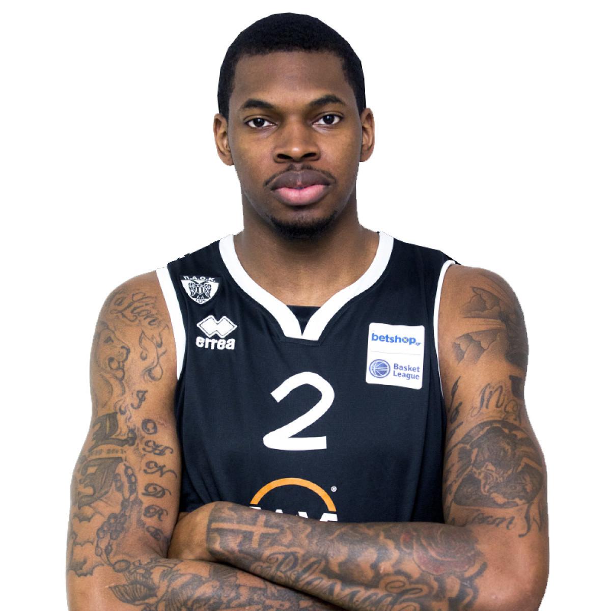Photo of Johndre Jefferson, 2018-2019 season