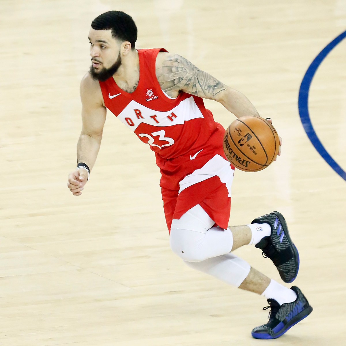 Photo of Fred Van Vleet, 2018-2019 season