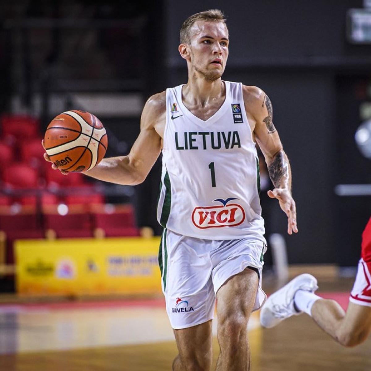 Photo of Arnas Velicka, 2019-2020 season