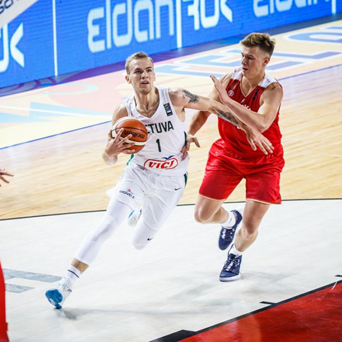 Photo of Arnas Velicka, 2019-2020 season