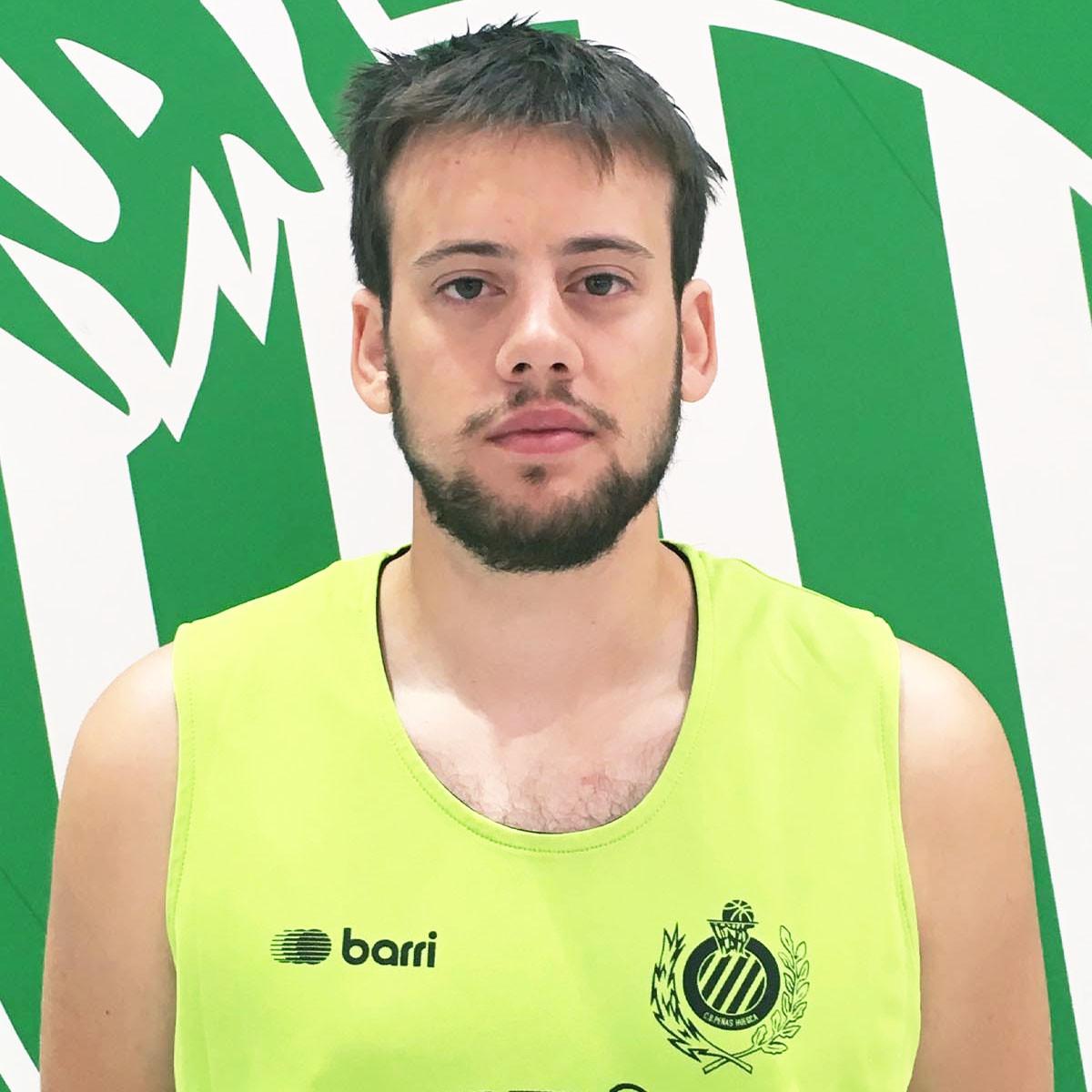 Photo of Pablo Domper, 2018-2019 season
